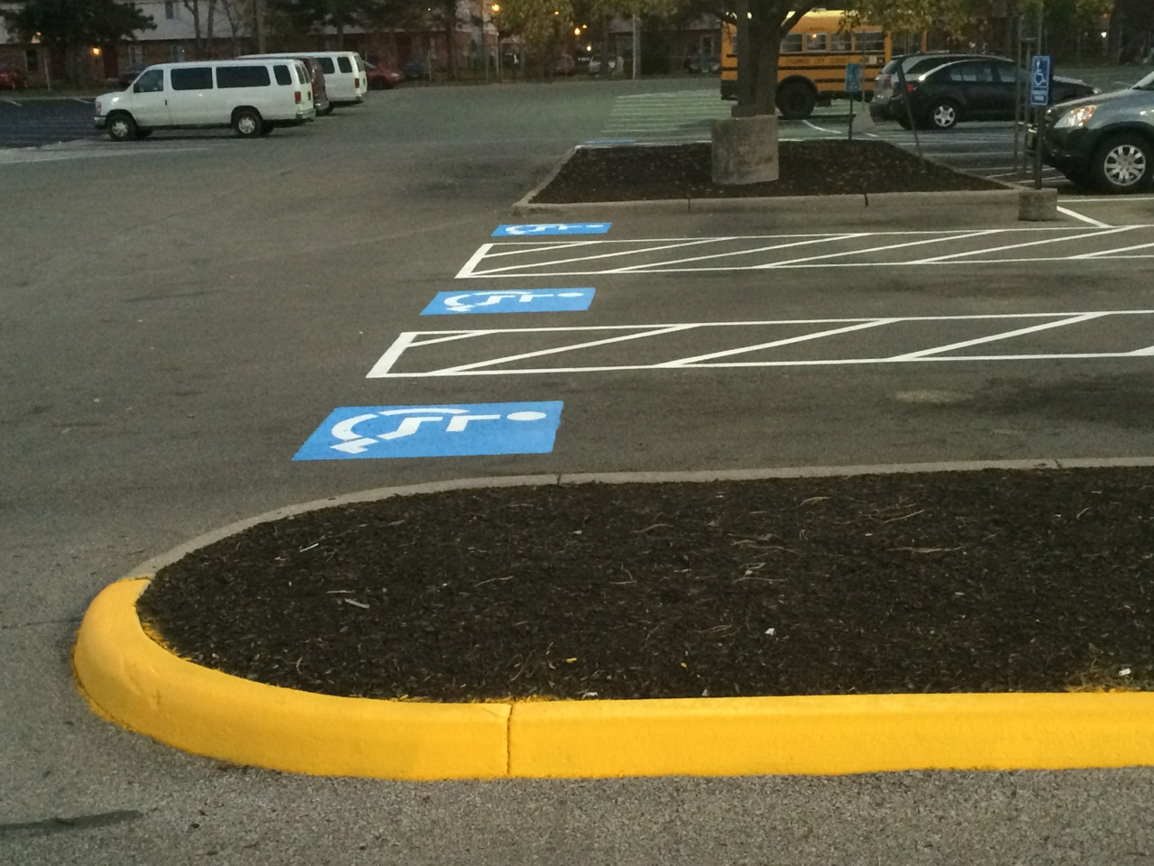 Parking Lot Painting And Striping